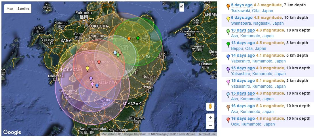 Shifting Times Kumamoto And The Peoples Response Yokoso Japan - Japan map ueki